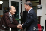 김성기 가평군수, 사회복지시설 등 위문