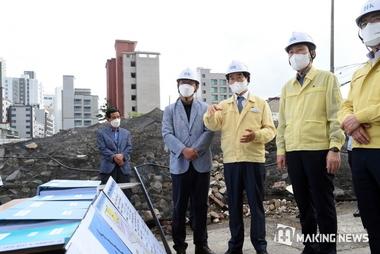 의정부시, 철거·해체 건설공사장 긴급안전점검